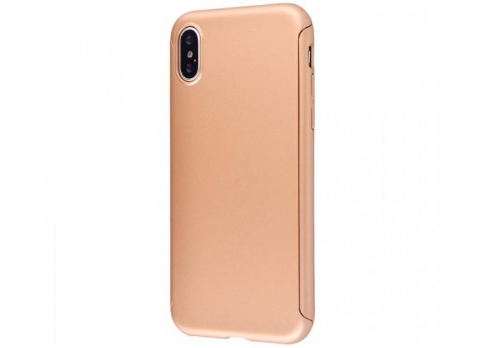 Чехол для iPhone X Voero 360 Protect Case Золото