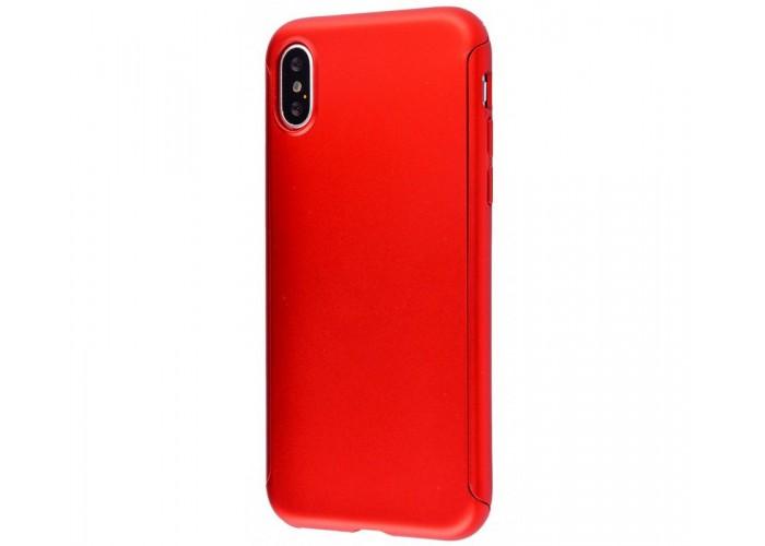 Чехол для iPhone X Voero 360 Protect Case Красный