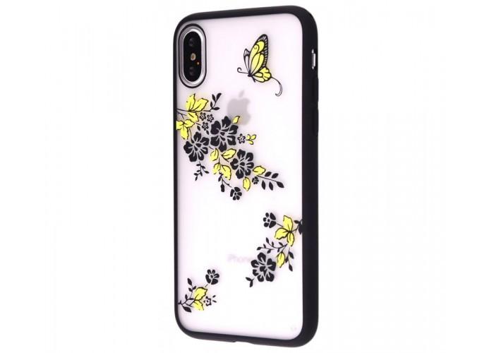 Чехол для iPhone X / Xs Luoya new soft touch 5
