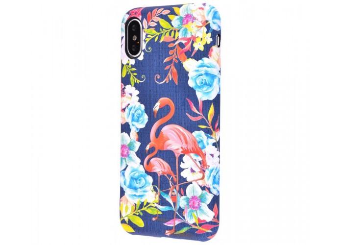 Чехол для iPhone X / Xs Luxo Face neon №27