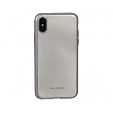 Чехол для iPhone X / Xs Molan Cano Jelly серебрянный