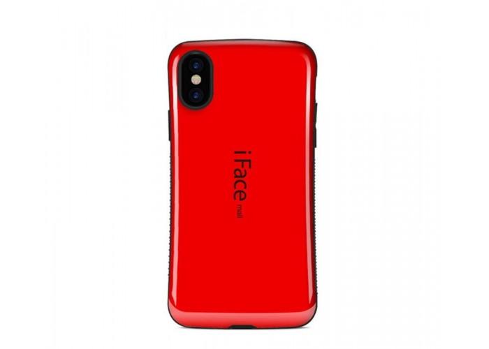 Чехол для iPhone X iFace красный
