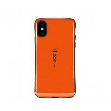 Чехол для iPhone X iFace оранжевый