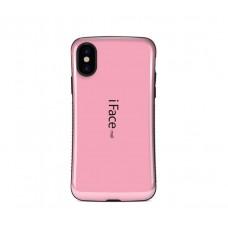 Чехол для iPhone X iFace розовый