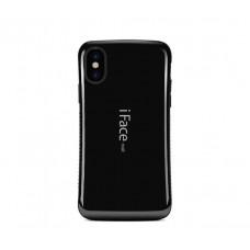 Чехол для iPhone X iFace черный