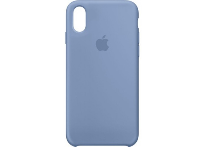 Силиконовый чехол Apple Silicone Case Azure для iPhone X /10 Xs/10s (копия)