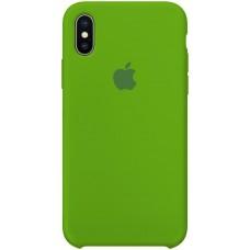 Силиконовый чехол Apple Silicone Case Green для iPhone X /10 Xs/10s (копия)