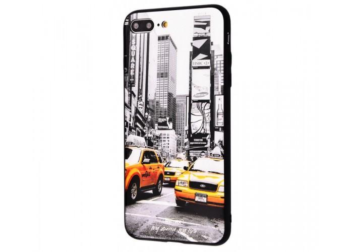 Чехол для iPhone 7 Plus/8 Plus White Knight Pictures Glass 31