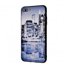 Чехол для iPhone 7 Plus/8 Plus White Knight Pictures Glass 26