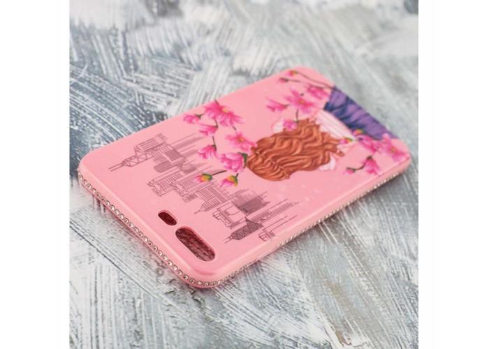 "Чехол для iPhone 7 Plus/8 Plus Magic Girl розовый ""сакура"""