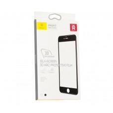 Защитное стекло Baseus 3D Arc Protective Film для iPhone 6/6s черное