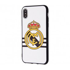 Чехол для iPhone X World Cup Real Madrid