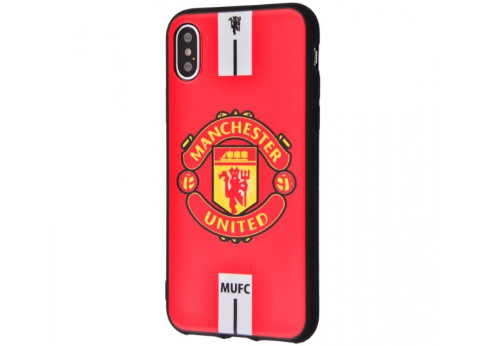Чехол для iPhone X / Xs World Cup Manchester United