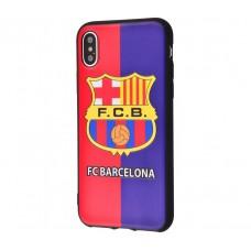 Чехол для iPhone X / Xs World Cup Barcelona