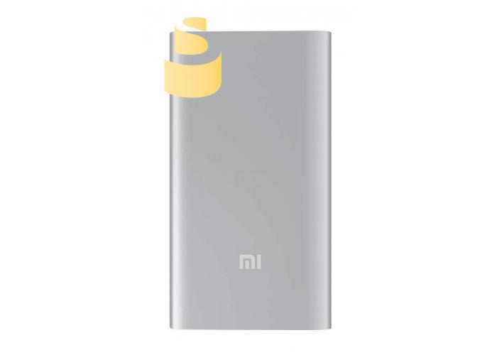 Power Bank XIAOMI MI Ultra Thin 5000mAh 2.1A с 1USB Серебряный (Silver)