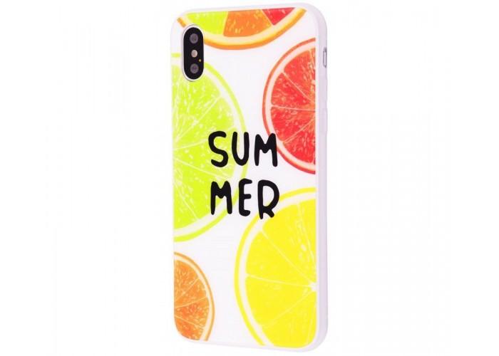 Чехол для iPhone X / Xs Summer