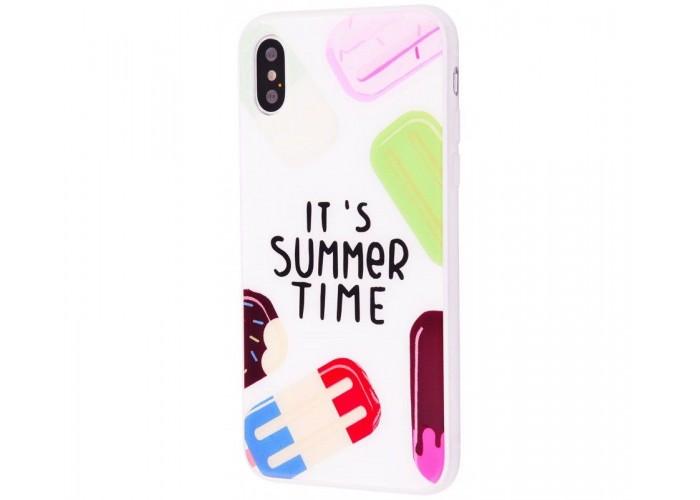 Чехол для iPhone X / Xs Summer Time