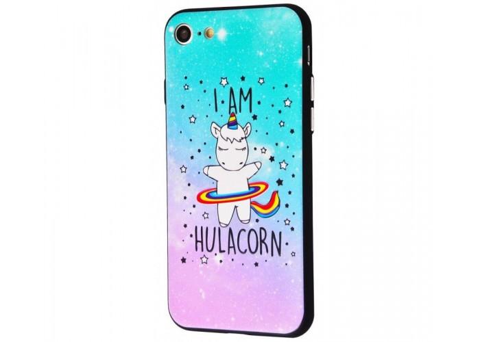 Чехол для iPhone 7/8 Единорог Hulacorn