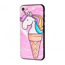 Чехол для iPhone 7/8 Единорог мороженое
