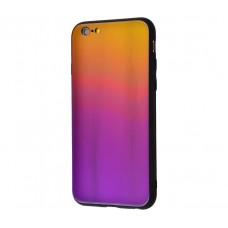 Чехол для iPhone 7/8 Colourful Benzo желто-фиолетовый