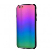 Чехол для iPhone 7/8 Colourful Benzo фиолетово-зеленый