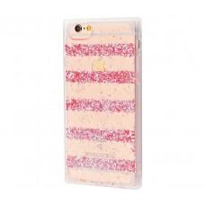 Чехол для iPhone 6/6s Shine Line розовый