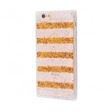 Чехол для iPhone 6/6s Shine Line золотистый