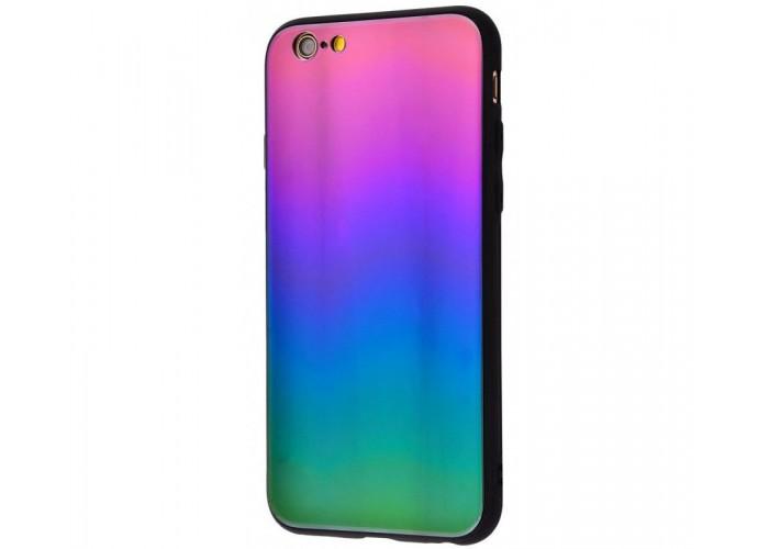 Чехол для iPhone 6/6s Colourful Benzo фиолетово-зеленый