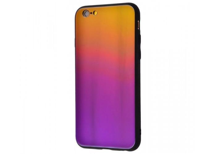 Чехол для iPhone 6/6s Colourful Benzo желто-фиолетовый