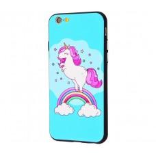 Чехол для iPhone 6/6s Единорог радуга