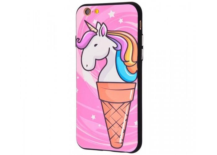Чехол для iPhone 6/6s Единорог мороженое