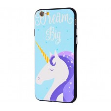 Чехол для iPhone 6/6s Единорог Big Dream