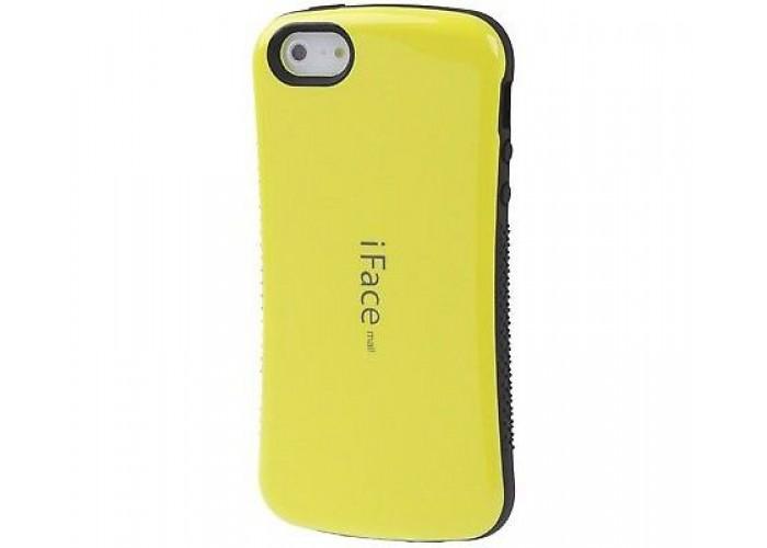 Чехол для iPhone 5/5s/SE iFace желтый