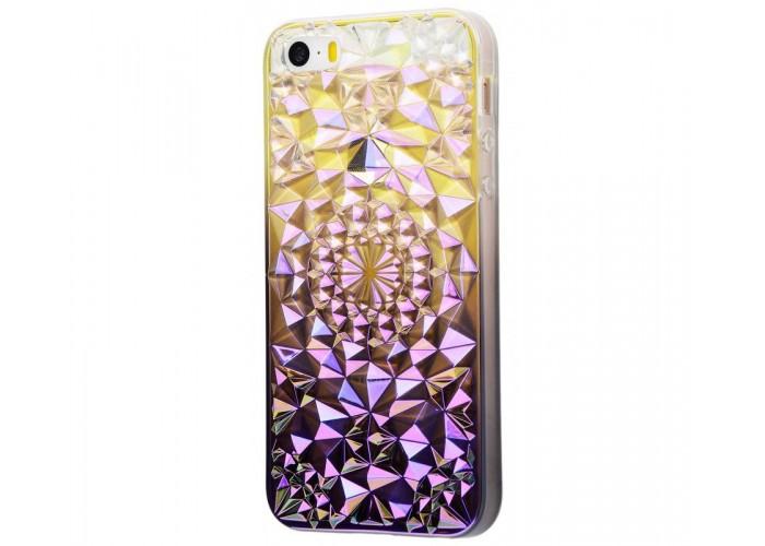 Чехол для iPhone 5/5s/SE Gelin Pearl фиолетовый
