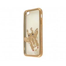 Чехол для iPhone 5/5s/SE Kingxbar Diamond Жираф золотистый