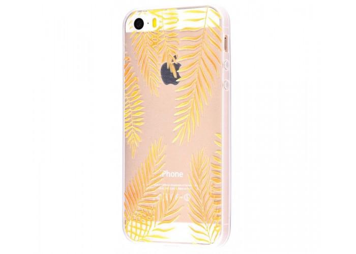 Чехол для iPhone 5/5s/SE листья
