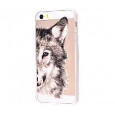 Чехол для iPhone 5/5s/SE Wolf