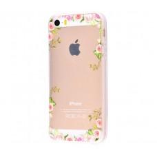 Чехол для iPhone 5/5s/SE цветочная лоза