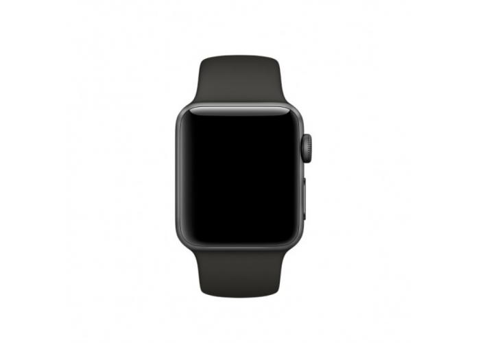 Силиконовый ремешок для Apple Watch 38/40/42/44мм Charcoal Gray