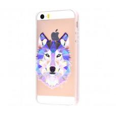 Чехол для iPhone 5/5s/SE волк