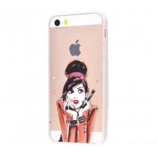 Чехол для iPhone 5/5s/SE гламур