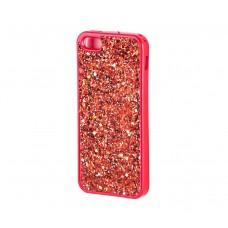 Чехол для iPhone 5/5s/SE Diamond Shining красный