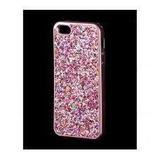 Чехол для iPhone 5/5s/SE Diamond Shining розовый