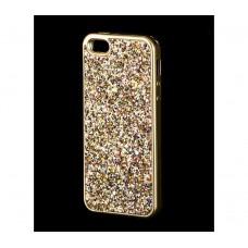 Чехол для iPhone 5/5s/SE Diamond Shining золотистый