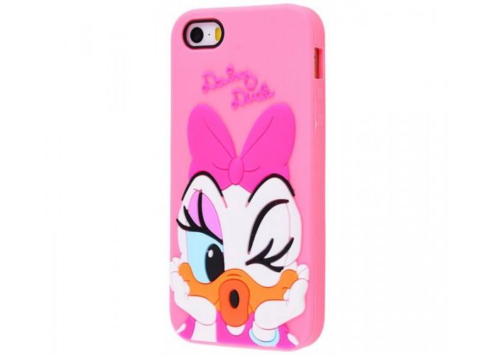 Чехол для iPhone 5/5s/SE Disney Daisy Duck