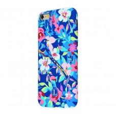 Чехол для iPhone 5/5s/SE Luxo Face neon №24