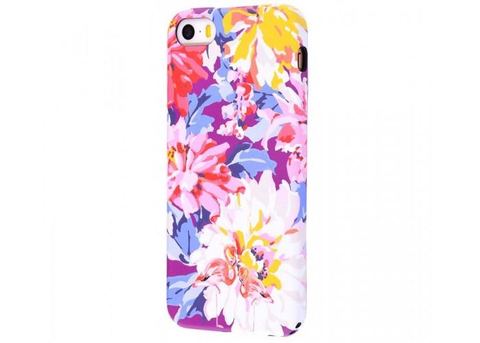 Чехол для iPhone 5/5s/SE Luxo Face neon №17