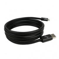 Кабель FuseChicken USB Cable to Lightning Titan 1,5m Black IDSB15