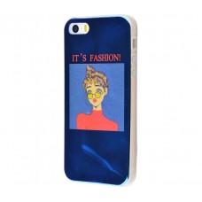 Чехол для iPhone 5/5s/SE перламутр fashion