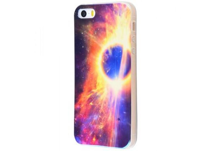 Чехол для iPhone 5/5s/SE перламутр eclipse
